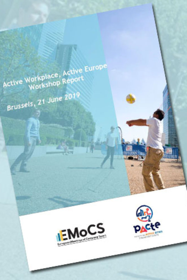 Active Workplace, Active Europe – Workshop Report