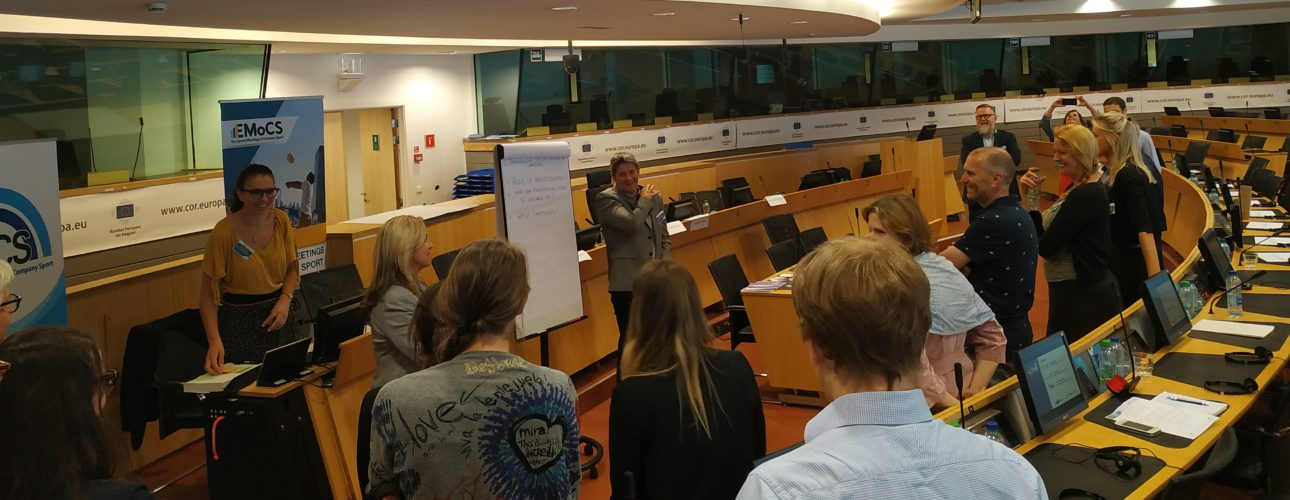 Active Workplace, Active Europe Workshop